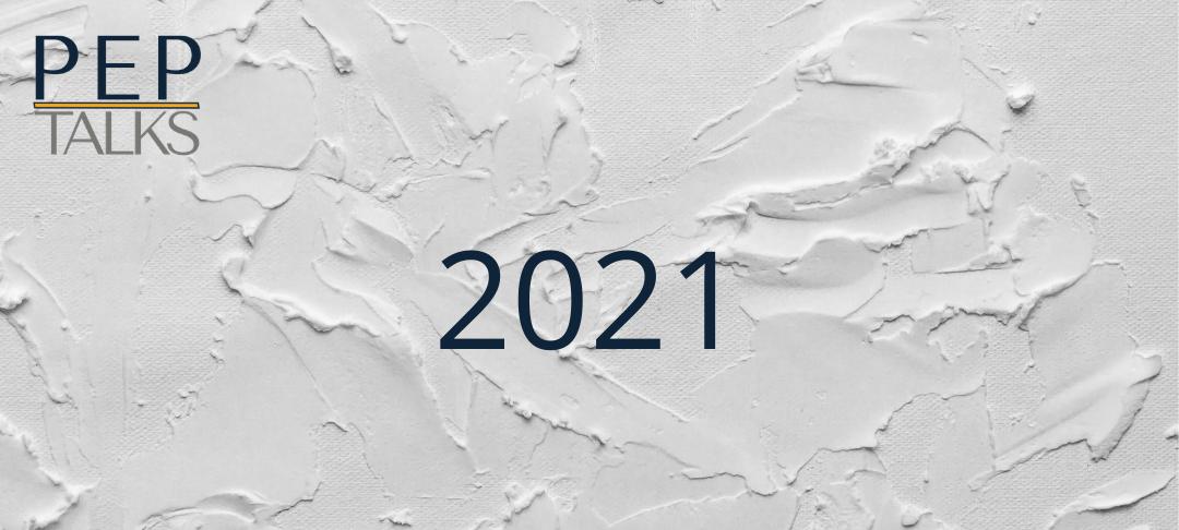 PEP Talks 2021 Blank Canvas header graphic