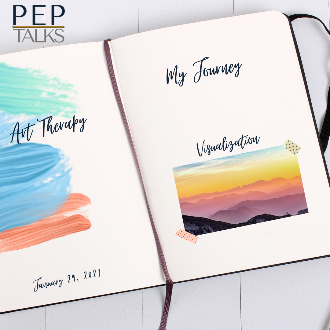PEP Talks Journaling photo for art therapy