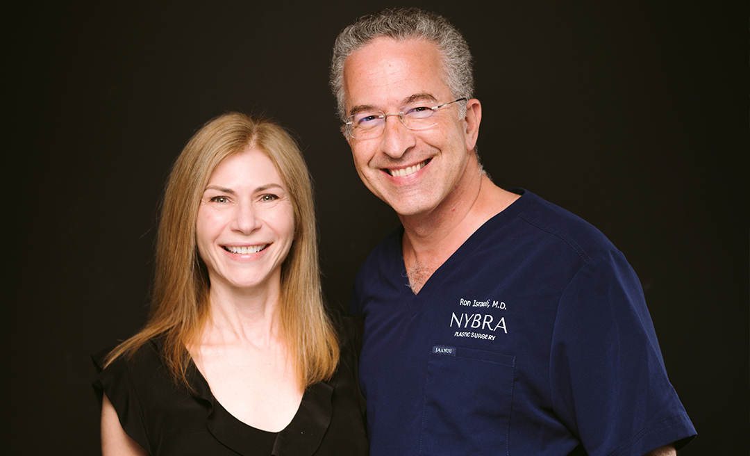 Photo of Dr. Israeli and Marnie