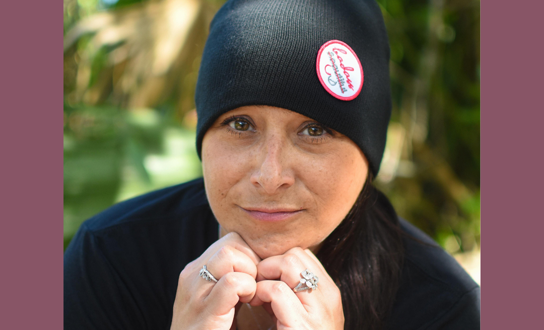 Close-Up photo of Tracy, co-founder of BRCAStrong